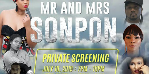 Mr. & Mrs. Sonpon Private Screening & After Party