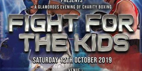 Fight For The Kids - White Collar Charity Boxing tickets