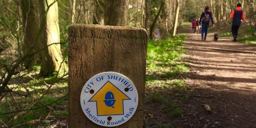 Sheffield Round Walk Plod 15.4 miles (25km)