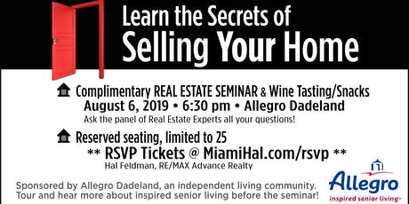 Learn the Secrets of Selling Your Home tickets