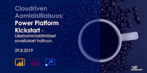 Cloudriven aamiaistilaisuus: Power Platform Kickstart