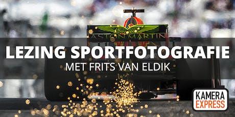 Lezing Sportfotografie door Frits van Eldik tickets