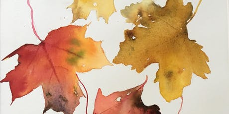Autumn Leaves In Ink & Watercolour Workshop tickets