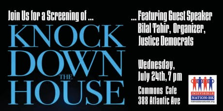 BK: Knock Down the House tickets