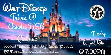 Disney Movie Trivia at Growler USA Gastonia tickets