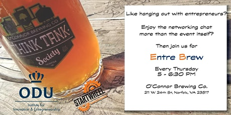 Entre Brew - just like hanging out with fellow entrepreneurs  tickets