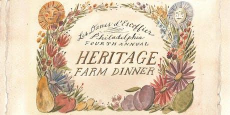 4th Annual Heritage Farm Dinner honoring Ellen Yin tickets