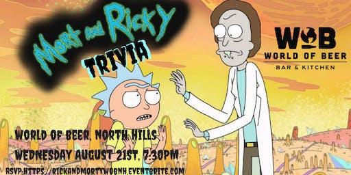 Rick and Morty Trivia at World of Beer North Hills