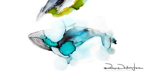 An Introduction To Alcohol Ink Illustrations Workshop