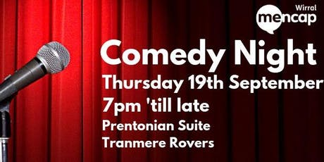 Wirral Mencap Comedy Night  tickets