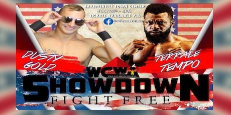 WCWA SHOWDOWN : Fight Free tickets