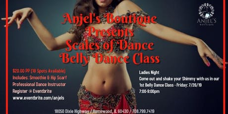 Scales of Dance - Belly Dance Class tickets