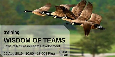 Wisdom of Teams: Laws of Nature in Team Development tickets