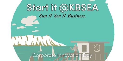 Corporate innovation day #event #corporates #Startit@KBSEA
