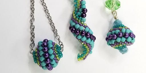 Bola Beaded Bead - Jewelry Making
