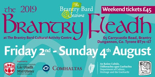 Brantry Fleadh 2019 - Bodhran Workshop