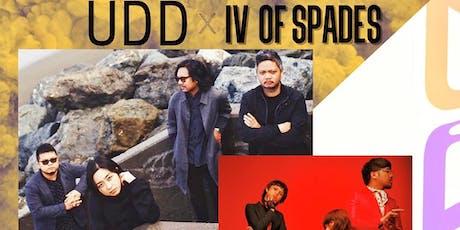 UDD & IV OF SPADES tickets