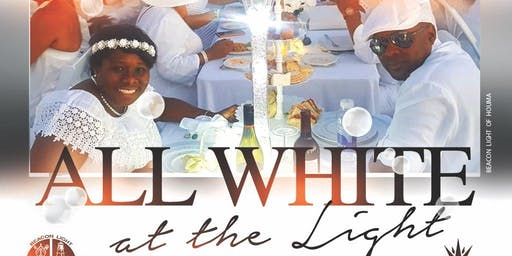 """ALL WHITE at the LIGHT"" outdoor picnic"