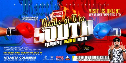 BATTLE OF THE SOUTH PRO BOXING