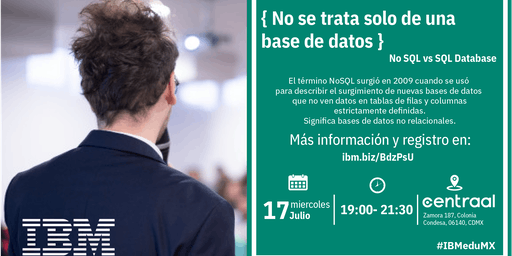 { No se trata solo de una base de datos}  D-Talk by IBM