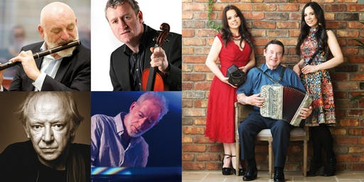 Brantry Fleadh 2019 Concert - Matt Molloy, John Carty, Arty McGlynn & Brian McGrath - Mick, Louise & Michelle Mulcahy