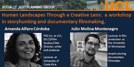 Human Landscapes Through a Creative Lens:  a workshop in storyhunting and documentary filmmaking. tickets
