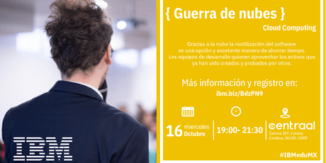 { Guerra de Nubes} D-Talk by IBM entradas
