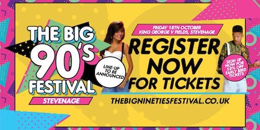 The Big Nineties Festival - Stevenage