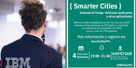 { Smarter Cities } D-Talk by IBM boletos