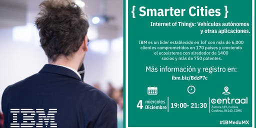 { Smarter Cities } D-Talk by IBM