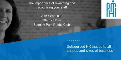 Client Seminar: The Importance of Rewarding and Recognising Your Staff tickets