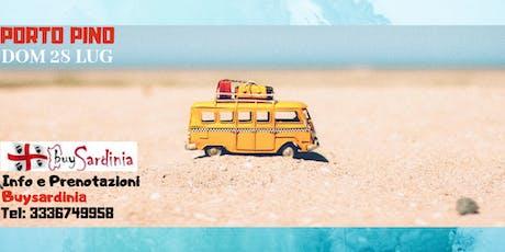 TOUR DELLE SPIAGGE CON BUYSARDINIA | 3° TAPPA PORTO PINO | DOM 28 LUG biglietti