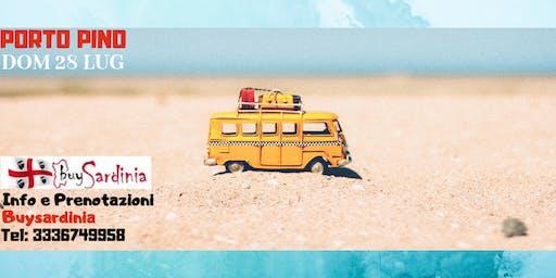 TOUR DELLE SPIAGGE CON BUYSARDINIA | 3° TAPPA PORTO PINO | DOM 28 LUG