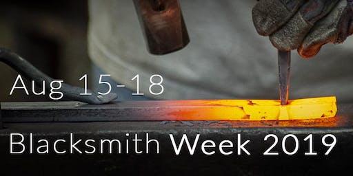 Blacksmith Week 2019