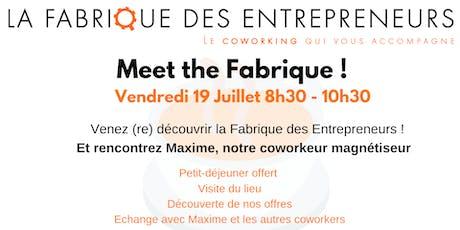 """Meet the Fabrique """"spécial été"""" billets"""