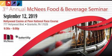 3rd Annual McNees Food & Beverage Seminar tickets