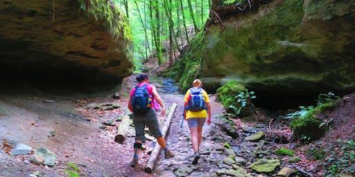 "03.10 (Do,Fr,Sa): Wanderdate-Reise ""Drei Tage Müllerthal Trail Luxemburger Schweiz"""