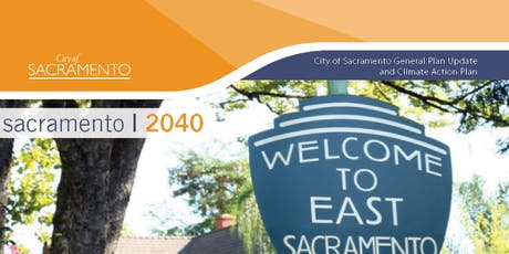 Sacramento 2040 | East Sacramento Community Plan Area Meeting tickets