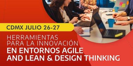 Herramientas para la Innovación en Entornos Agile & Design Thinking entradas
