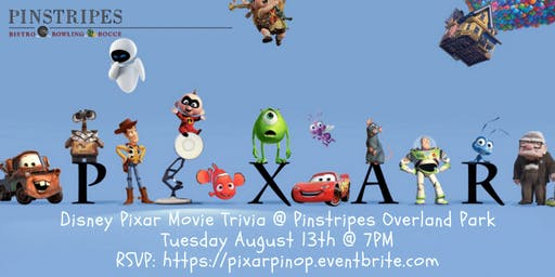 Disney Pixar Movie Trivia at Pinstripes Overland Park
