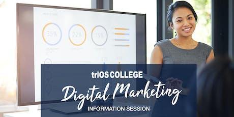Digital Marketing Information Session tickets