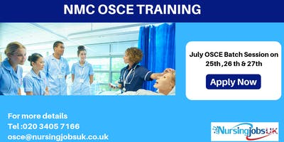 UK NMC OSCE (Objective Structured Clinical Examination) Training Course 2019