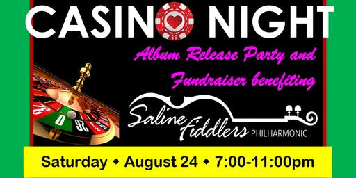 Saline Fiddlers Casino Night and Album Release Party