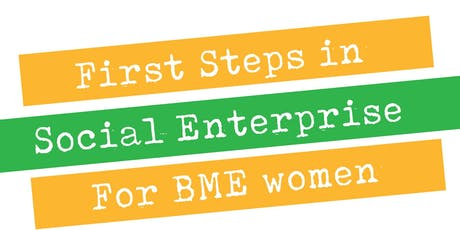 First Steps In Social Enterprise launch 2019 tickets