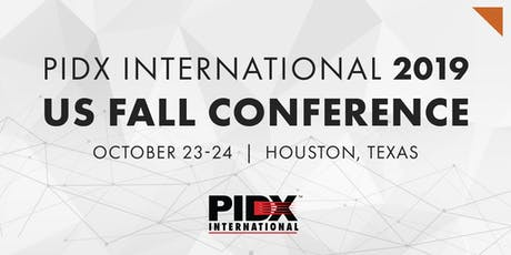 2019 PIDX International US Fall Conference tickets