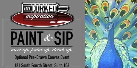 Paint & Sip | Peacock tickets