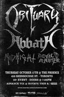 *Obituary & Abbath