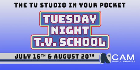 Tuesday Night TV School - The TV Studio In Your Pocket tickets