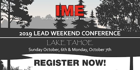 IME 2019 LEAD Conference, Lake Tahoe, NV tickets