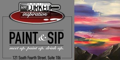 Paint & Sip | Painted Sky